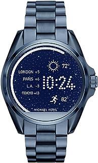 Michael Kors Access, Women's Smartwatch, Bradshaw Navy-Tone Stainless Steel, MKT5006
