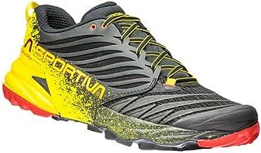 La Sportiva Akasha Black/Yellow, Zapatillas de Deporte para Mujer