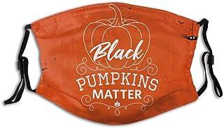 Promini Fuy Halloween pumpa gåva personlig munärm återanvändbar munskydd