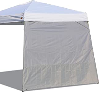ABCCANOPY Canopy Side Wall for 10'x 10' Slant Leg Canopy Tent, 1 Pack Sidewall Only, Gray