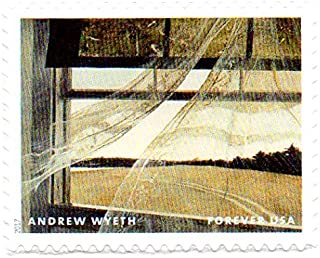 USA Postage Stamp Single 2017 Andrew Wyeth Painting Issue Forever (49 Cent) Scott #5212A