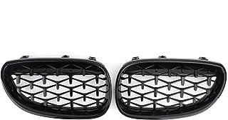 LIANGYUXIA ABS Griglia diamantata Griglia Anteriore Adatta per Mercedes Benz A45 amg Classe A W176 GTR GT A180 A200 A260 A45 2013-2015