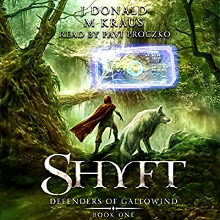 Defender of Gallowind     Shyft, Book 1              By:                                                                                                                                 J. Donald,                                                                                        M. Kraus                               Narrated by:                                                                                                                                 Pavi Proczko                      Length: 10 hrs and 25 mins     2 ratings     Overall 3.5