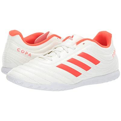 adidas Copa 19.4 IN (Off-White/Solar Red/Off-White) Men