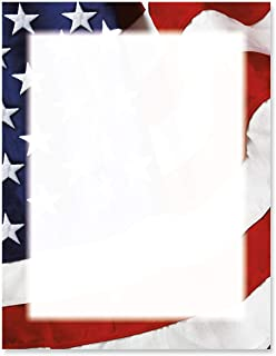 Geographics letterhead Flag 25 sheets