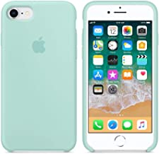 Funda Silicone Case para iPhone 7/8, Carcasa de Silicona Líquida Suave Antichoque Bumper para Apple iPhone 7/8 (Verde)