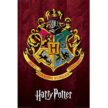 Harry Potter Hogwarts Crest Poster (24in x 36in) (Multicolored)