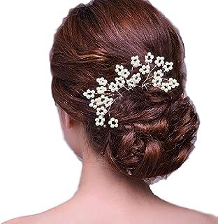 Frauen Haarschmuck Haarnadel Perlenbänder Diademe Haar elastisches Werkzeug