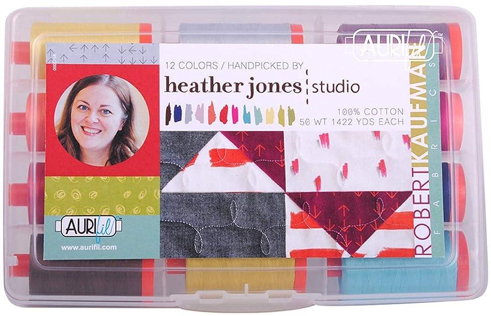 Heather Jones Aurifil Thread Kit 12 Large Spools 50 Weight HJ50HJ12