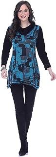 Parsley & Sage Women's Sheila Cowl Neck Tunic Top