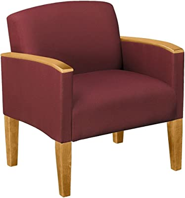 Amazon.com: Office Star WD483-M25 Accent Guest Chair Milford ...