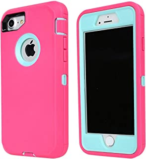 Annymall Case Compatible for iPhone 8 & iPhone 7, Heavy Duty [with Kickstand]..
