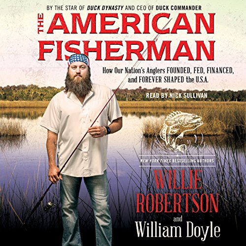 The American Fisherman audiobook cover art
