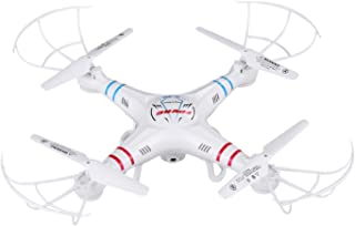 RC Quadcopter ,FPVRC X5C-1 ,2.4G 4Ch Headless Mode RC Drone with Altitude Mode and HD Camera (White)