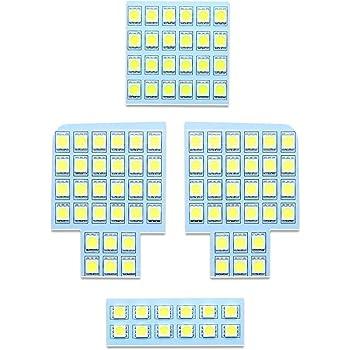 タント LED ルームランプ ホワイト 室内灯 ダイハツ LA600 専用設計 爆光 3チップSMD搭載 カスタムパーツ DAIHATSU TANTO LA600 LED バルブ 取付簡単 一年保証 (ダイハツ タント 用)
