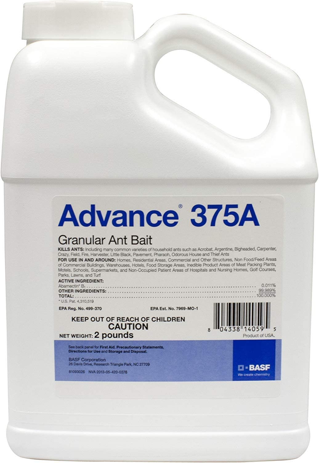 BASF 10341 Advance 375A excellence Ant Granular New Free Shipping Bait