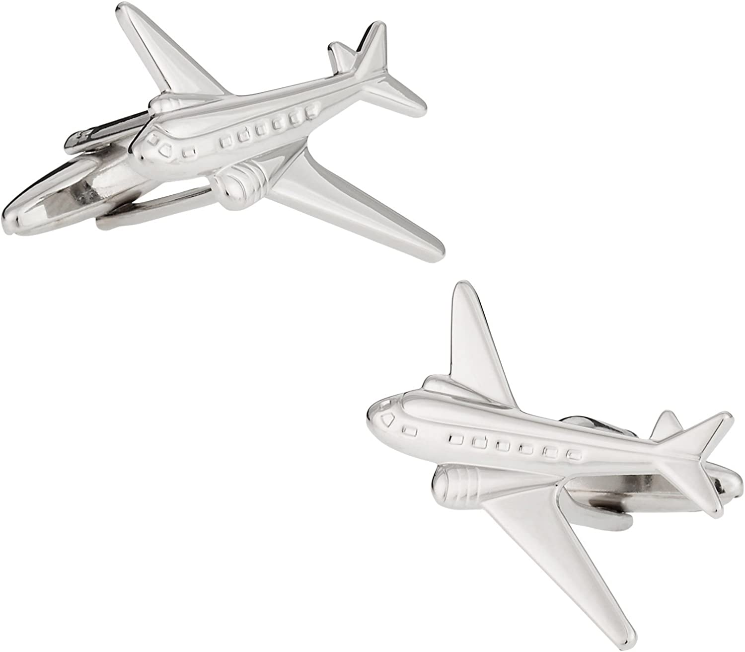 Cuff-Daddy Commercial Long Beach Mall Airline Airplane Presentati with Cufflinks In stock