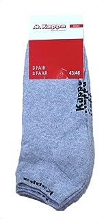 Kappa Tock Unisex Sports Ankle Socks 3 Pair Pack