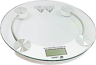 Bahob® - Báscula digital de peso corporal para baño, báscula de precisión de grasa corporal de 150 kg