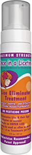 Lice Eliminator Mousse – Once in a Licetime All-Natural Lice Removal Treatment – Enzyme Lice Treatment for Adults – Enzyme Lice Treatment for Kids