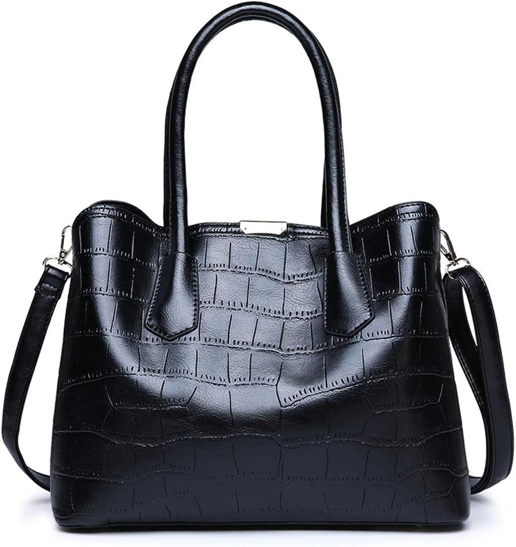 ZLULU Damen-Schultertaschen Damenhandtaschen Normallack Messenger Bag Umhängetasche Mit Taschen Taschen Taschen B07KQ8TVGN  Fett und dünn 6b4f9f
