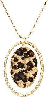 Best leopard print necklace Reviews