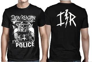 Iron Reagan Riot Cop T-shirt-L