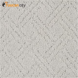 Toucan City Carpet Sample - Pure - Color Liberty Pattern 8 in. x 8 in. MO-588744