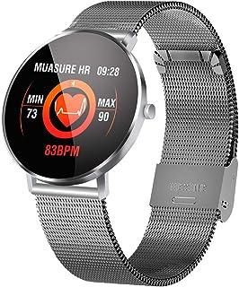 LHZTZKA Impermeable Reloj Inteligente con Cronómetro, Pulsera Actividad Inteligente para Deporte, Reloj de Fitness con Podómetro Adecuado para Mujer Hombre Y niños