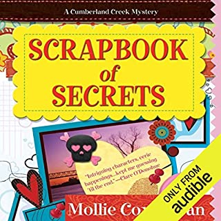 Scrapbook of Secrets audiobook cover art