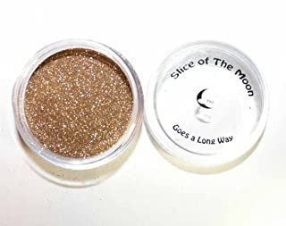 Slice Of The Moon: Weak Gold Non Solvent Resistant Glitter Powder 20g – Cosmetic Grade