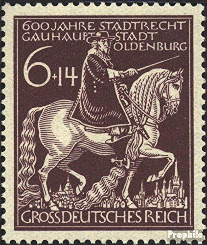 Duits Empire Mi.-Aantal.: 907 (compleet.Kwestie.) 1945 600 Years Oldenburg (Postzegels voor verzamelaars) paarden