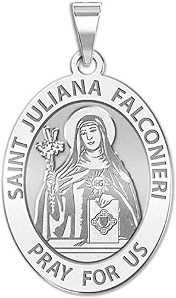 PicturesOnGold.com Super sale period limited Saint Juliana Max 61% OFF Falconieri - Medal Religious 2
