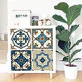 Pegatinas para muebles Alwayspon 33 cm x 33 cm x 4 piezas para Ikea KE Expedit Kallax estantería de almacenamiento para muebles del hogar decoración DIY PEEL & STICK Sticker