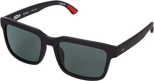 Sosi Matte Black Thin Red Line/HD Plus Gray Green Polar