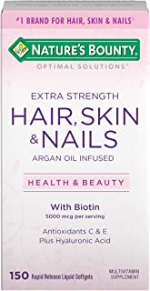 Nature's Bounty Extra Strength Hair, Skin and Nails, 150 Softgels