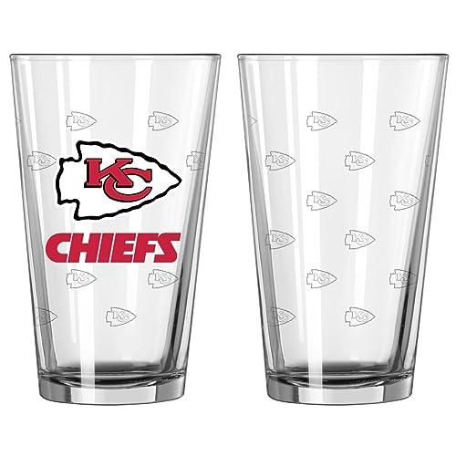 Boelter Kansas City Chiefs 16oz Plastic Pint Set of 4