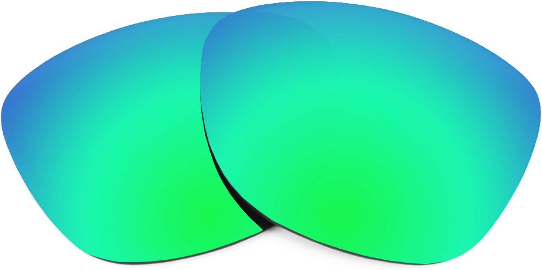 Revant Verres de Rechange pour Oakley Proxy - Compatibles avec les Lunettes de Soleil Oakley Proxy Vert Émeraude Mirrorshield - Polarisés Elite