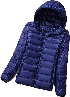 OUOK Plus Size Winter Down Jacket Women Eiderdown Outwear Winter Warm Coat Ultralight White Duck Down Coat Parka