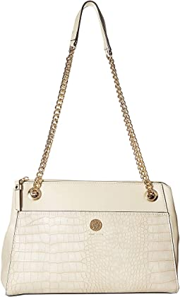 Chain Toggle Shoulder Bag