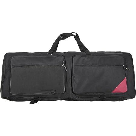 "ammoon 73-Key 76-Key Keyboard Electric Piano Organ Gig Bag Soft Case 46.4"" 16.5"" Durable 600D Cloth PE Foam Padded Dual Zipper"