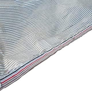 Toldos Duo Sombra de Tela Sombreado Red Plata Blanco Reflectante Papel de Aluminio Sombra Red Aislamiento Protector Solar para Planta y Flor (Tamaño : 4X5m)