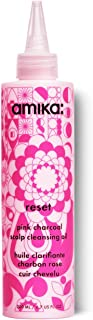 Amika Reset Pink Charcoal Scalp Cleansing Oil, 6.7 Oz