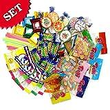 Süßigkeitenset für Mitgebseltütchen, 55 tlg. mit 8 versch. Süßigkeiten, für 8 Kids