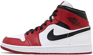 [ナイキ] エアジョーダン 1 ミッド メンズ バスケットボール シューズ Air Jordan 1 Mid Chicago 2020 554724-173, 26.5 cm [並行輸入品]
