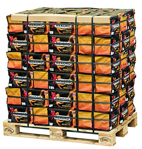 900kg Briketts Rekord Kohle Brikett Kamin Ofen Heizbriketts 90 x 10kg Papiertüte TOP Gluthalter (ENERGIE KIENBACHER BRENNHOLZ, BRIKETTS & CO.)