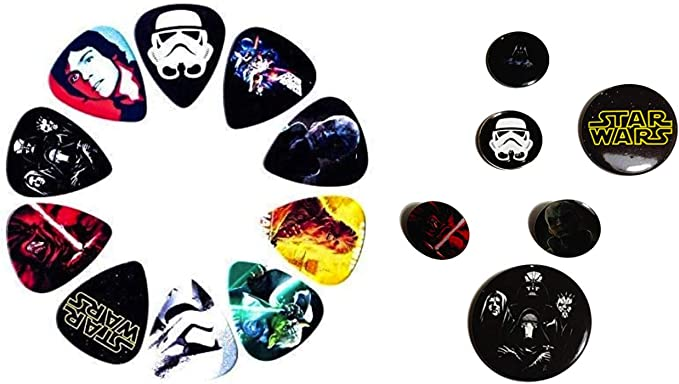STAR WARS Guitar Pick!! DISNEY #12 AT AT