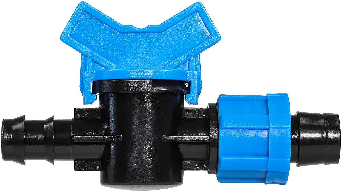 IrrigationKing RKMV1617 Cash special price Mini-Valve 16 mm Barb Tape x Colorado Springs Mall Swivel 5 8