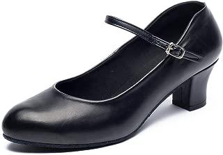 Womens Practice Beginner Latin Tango Ballroom Character Dance Shoes Wedding Party Pump Shoes