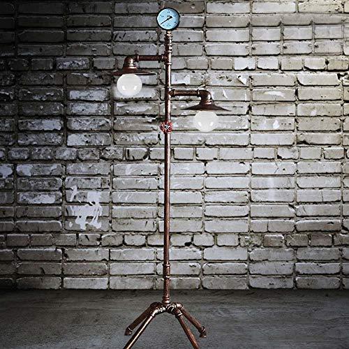 Staande lamp ijzer Retro vloerlamp plafondlamp industriële lamp hotellamp slaapkamer werkkamer woonkamer lamp E27 4 X 100 M
